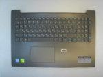 Клавиатура для ноутбука Б\У lenovo Ideapad 330-15IKB + C корпус RU\EN серая