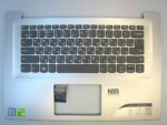 Клавиатура для ноутбука Lenovo IDEAPAD 320s-14 + C cover RU серебро