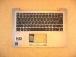 Клавиатура для ноутбука Б\У  Lenovo IdeaPad 120s-14iap  + C корпус RU\EN серебро
