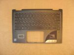 Клавиатура для ноутбука Б\У lenovo Yoga 720-13 + C корпус RU\EN с подсветкой серая