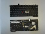 Клавиатура для ноутбука Lenovo X1 Carbon  Gen3 Черная EN enter flat