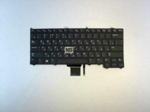 Клавиатура для ноутбука DELL Latitude E7240 E7440 BLACK RU