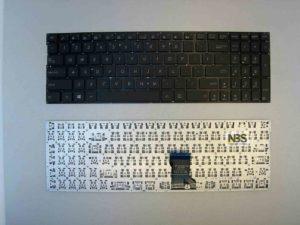 Клавиатура для ноутбука Asus G501JW EN enter flat