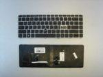 Клавиатура для ноутбука Б/У HP EliteBook 840 G3 840 G4 848 G4 745 G3 745 G4 RU с подсв рамка серебр