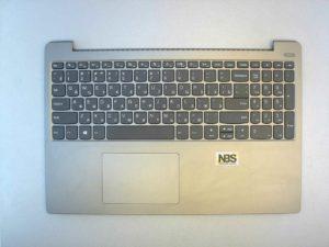 Клавиатура для ноутбука Б\У lenovo Ideapad 330S-15IKB + C корпус + тачпад RU серебро