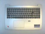Клавиатура для ноутбука Б\У lenovo Ideapad 330-15IKB + C корпус RU\EN серебро
