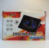 Подставка для ноутбука B8, для ноутбуков от 9″ до 17″, два вентилятора 140мм, размер 395*267*38 mm