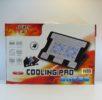 Подставка для ноутбука 638А, для ноутбуков от 9″ до 17″, два вентилятора 140мм, размер 395*267*38 mm