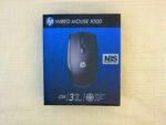 Мышь HP X500 Optical 1000 dpi