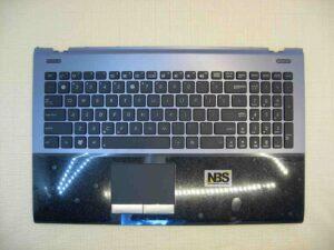 Клавиатура для ноутбука Asus U56 U56E + C panel EN серая