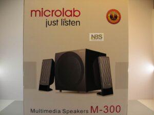 Microlab M-300 2.1 колонки