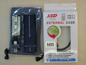 Переходник c M.2 PCI-e (Nvme) на USB 3.1 Type-C