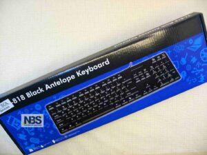 Клавиатура M-SOL TJ-818 черная