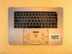 "Клавиатура для ноутбука Mac Book model:A1990 2018г enter""7"" RU + C Panel БУ"