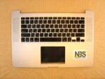 Клавиатура для ноутбука Mac Book model:A1398 2015г enter flat RU + C Panel БУ