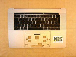 "Клавиатура для ноутбука Mac Book model:A1707 2016г enter""7"" RU + C Panel БУ"