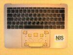 "Клавиатура для ноутбука Mac Book model:A1708 2016г enter ""7"" RU + C Panel БУ"