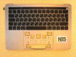 "Клавиатура для ноутбука Mac Book model:A2159 2019г enter""7"" RU + C Panel БУ"
