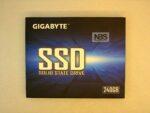 "SSD GIGABYTE 240GB 2.5"" R500/W420 GP-GSTFS31220GNTD"