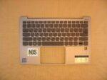 Клавиатура для ноутбука Б\У lenovo Yoga s730-13 + C корпус RU\EN с подсветкой серая