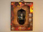 Мышь Defender Overmatch GM-069 4кл-кн черная 2400dpi USB