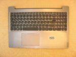 Клавиатура для ноутбука Б\У lenovo Ideapad L3-15 + C корпус RU\EN серебро