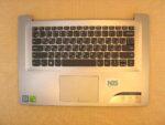 Клавиатура для ноутбука Б\У Lenovo IdeaPad 320S-15 + C корпус RU\EN серебро+тачпад