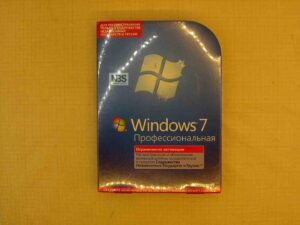 Microsoft Windows 7 Professional BOX 32/64 bit Rus