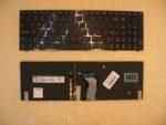 Клавиатура для ноутбука Lenovo Y500 Y510P Y500N Y500NT EN с подсветкой