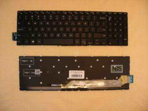 Клавиатура для ноутбука Dell Inspiron 7567 7566 7577 7587 7570 7580 с подсветкой EN Enter горизонт