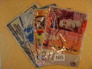 Коврик с рисунком-денежная купюра
