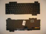 Клавиатура для ноутбука Asus Rog GL503V с подсветкой EN Enter горизонтальный